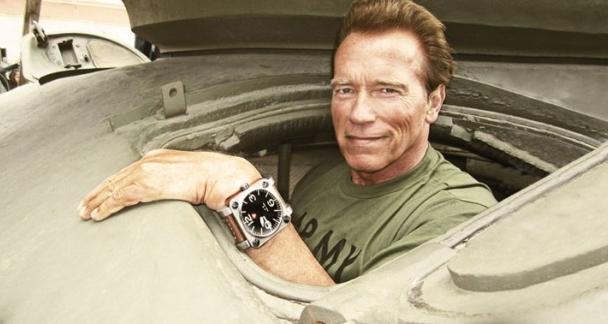 Arnold Schwarzenegger Watch Brand Debuts For 2015 ...