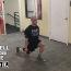 Alternative Exercise to Abductor/Adductor Machine: Dumbbell Reverse Lunge