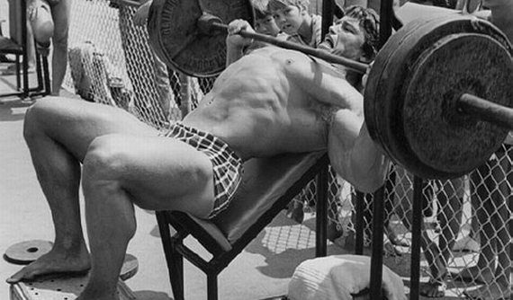 Image Result For Arnold BENCH PRESS